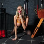 in fetish dungeon