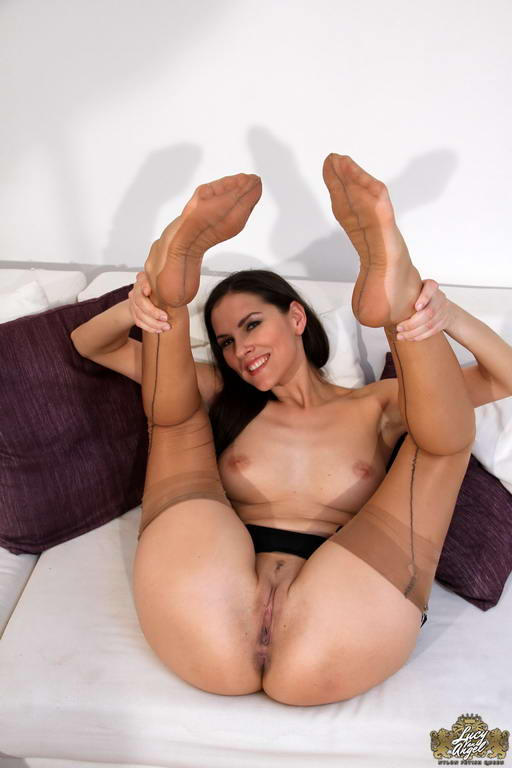 In pantyhose show pussy important answer