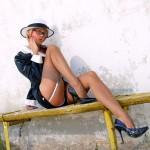 free lily wow nylon leg pics