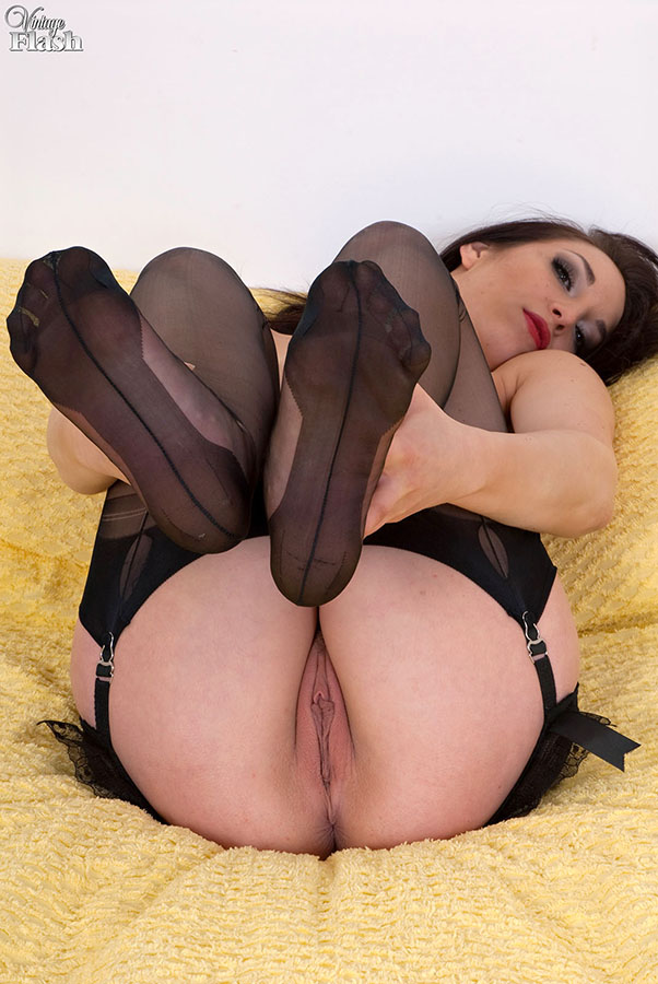 Necessary Jessica pressley pantyhose vintage stockings and heels