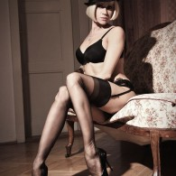 The leggy Lily Wow in a quad set! showing off those amazing long legs wrapped in some nylon stockings and man does she have amazing legs! perhaps the best legs...