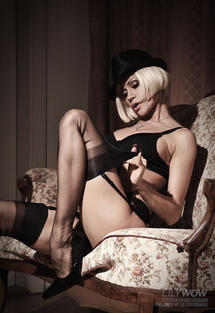 Consider, lily wow pantyhose and stockings
