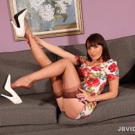 Dana DeArmond from JB Video rocking a dress, heels, and of course some brown fully fashioned stockings…. enjoy. JB Video Has Top Quality Photos and Amazing Nyon Fetish Movies! Check...